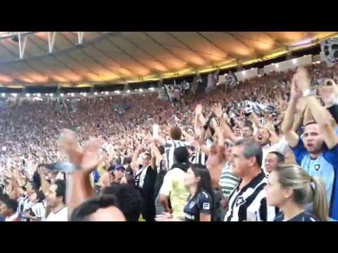 Torcida cantando Botafogo 1 x 0 Corinthians Fans at Maracana Stadium Rio 2016