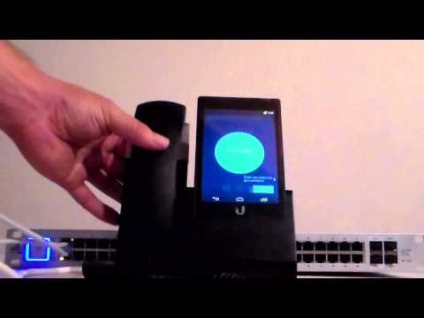 UniFi VoIP Phone (UVP) Unboxing