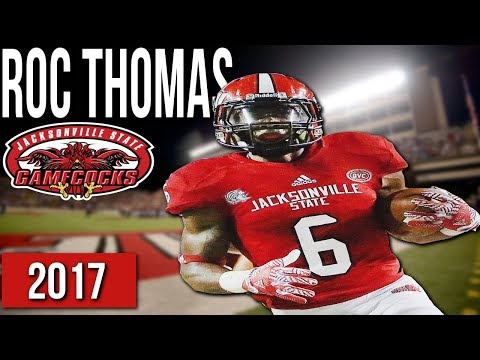 competitive price 352bc e1a21 Roc Thomas Jacksonville State Highlights (2017) | HD - YouTube