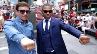The Buzz: Golovkin vs. Brook Press Conference (HBO Boxing)