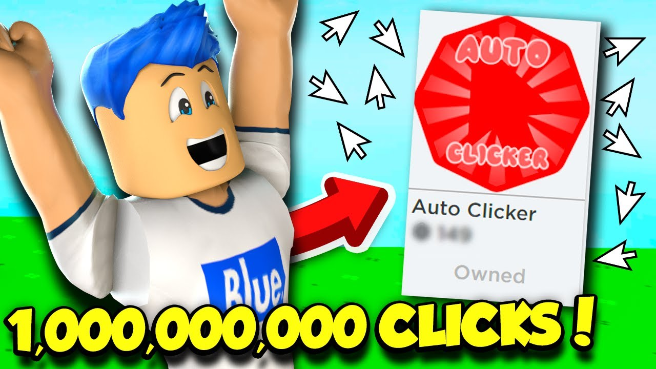 So I Bought The Auto Clicker In Clicking Simulator And Got