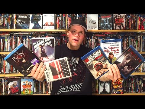 My Blu-ray Collection Update 4/29/16 : Blu ray and Dvd Movie Reviews