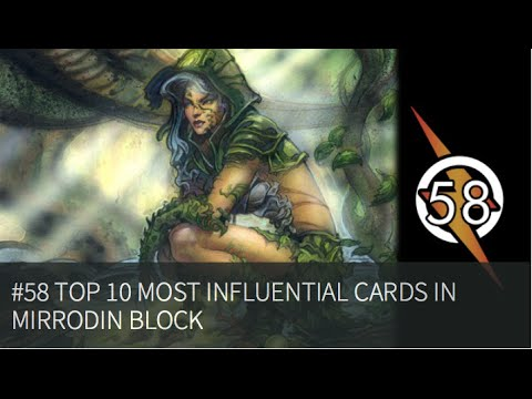 Top 10 most influential cards from Mirrodin block |The Masters Of Modern 58|