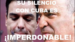 ¡INDIGNACIÓN TOTAL DE KASPAROV CON EL GOBIERNO ESPAÑOL POR SU TOLERANCIA CON LA DICTADURA CUBANA!
