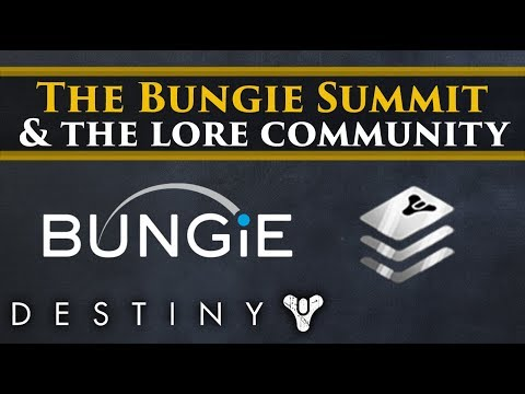 My thoughts on the Bungie Summit, the lore community & critiquing the studio