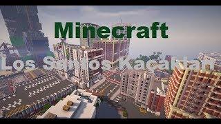Los Santos Kaçakları (Remake) (Minecraft Türk Filmi) [TR]