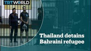 Refugee footballer from Bahrain detained in Thailand
