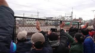 高崎線を走る貨物列車に手を振ろう その1