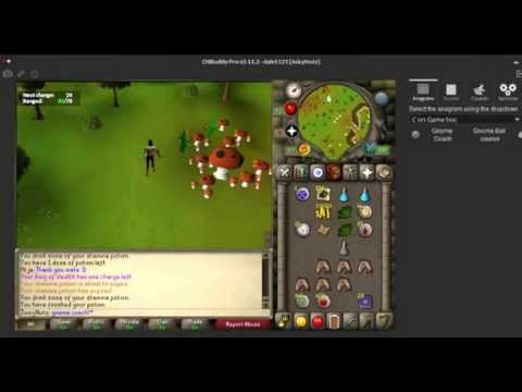 OSRS CLUE C ON GAME HOC GNOME COACH (HARD)