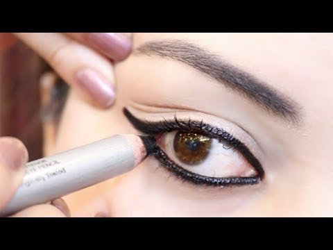 7 अलग काजल लुक | 7 different Kajal eye looks | Kajal look for beginners