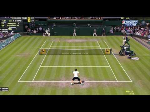 [Tennis Elbow 2013] R. Federer V.S.  M. Cilic, First Strike Tennis, Online Match,  ITST 1.18