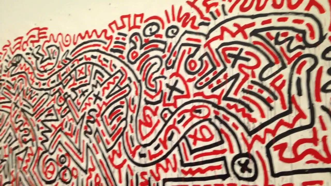 Keith Haring Exhibition In Munich Youtube