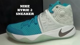 Nike Kyrie 2  Abominable Snowman Christmas Sneaker With Dj Delz
