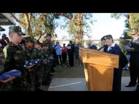 Unserviceable Flag Retirement Ceremony