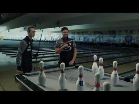 POOLBOWL - Pool VS Bowling INSANE Trick Shots !!!!