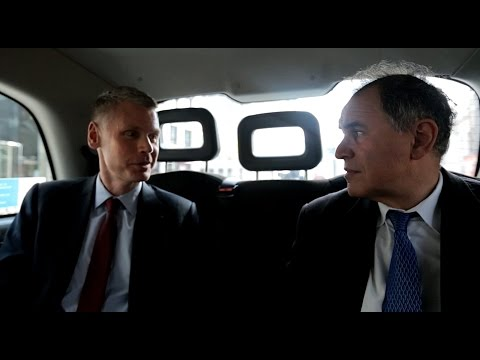 Riding in Cabs with Nouriel Roubini