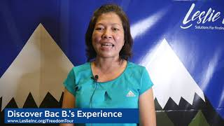 Bacs Experience Womens Financial Freedom Tour