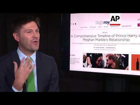 People magazine editor talks royal engagement and