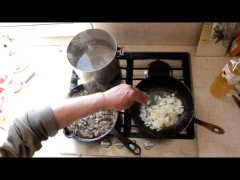 Грибной суп из замороженых грибов