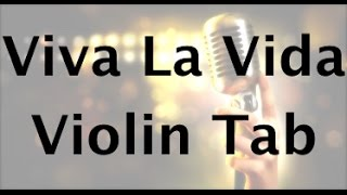 How to Play Viva La Vida on the Violin