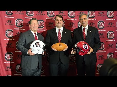 Will Muschamp Hiring Press Conference