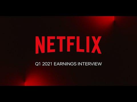 Netflix Q1 2021 Earnings Interview