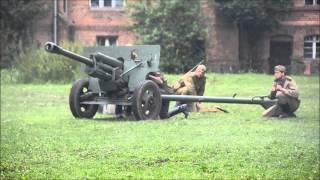 Strzelanie z 76mm armaty dywizyjnej - Strefa Militarna 2013 - Podzrzecze - Gostyń