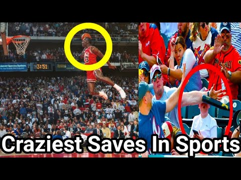 Most Amazing and Craziest Saves Moments in Sports History || Part 1