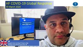 Humanity First's Global Response to COVID19