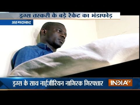 Nigerian arrested with drugs worth 6 crore in Ahmedabad