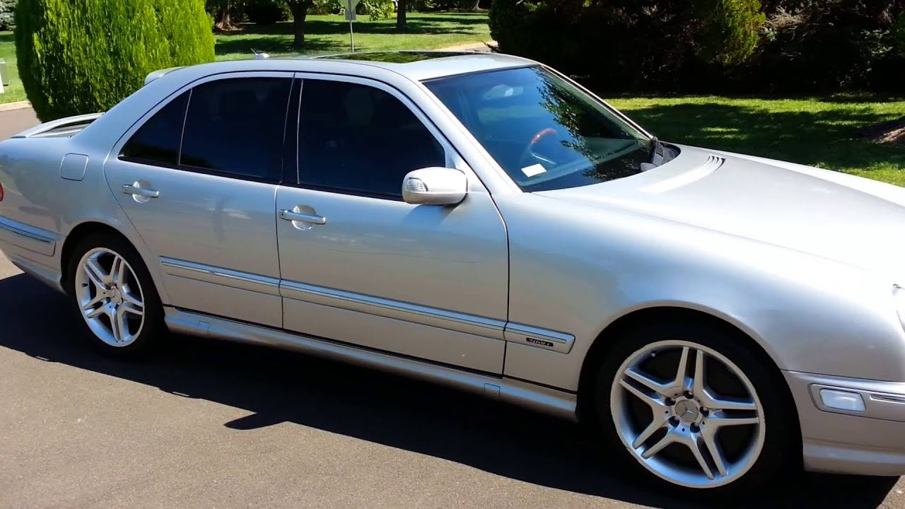 Mercedes Benz E430 2000 Sport Youtube