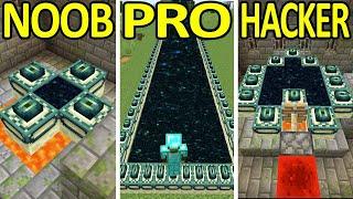 Minecraft NOOB vs PRO vs HACKER #3