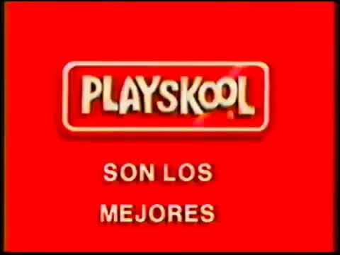 Playskool Liñea De Patines Es Mas Divertido (Peru 1997)