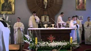 Msza święta prymicyjna
