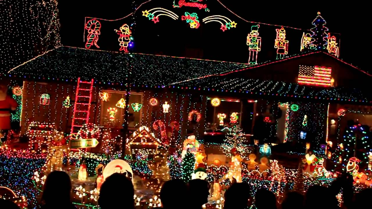Charming Christmas Lights From Home In Phoenix Arizona