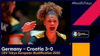RoadToTokyo Germany vs Croatia 3 0 Match Highlights