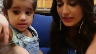 Bella And Vienna With Surbhi Maasi  Twin Baby Diaries