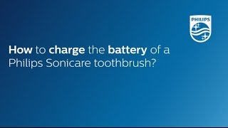 Скачать How To Charge The Battery Of A Philips Sonicare Toothbrush