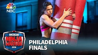 Jesse Labreck at the Philadelphia Finals - American Ninja Warrior 2016