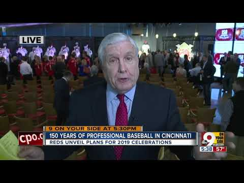 150 years of pro baseball in Cincinnati