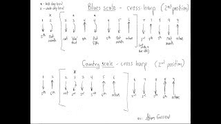 the blues scale for harmonica 1 (workshop)