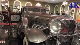 "1934 Duesenberg  ""Twenty Grand""  Volo Auto Museum  - 4K video"