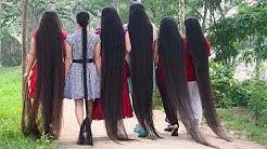 Menschen Mit Wahnsinnig Langen Haaren!