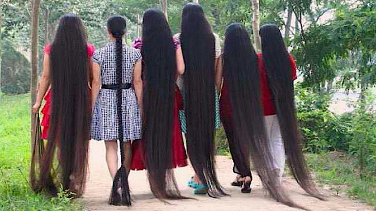 Extrem lange haare