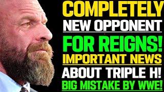 WWE News WWE Picks New Opponent For Roman Reigns Triple H WWE News AEW Star Is Off TV AEW News