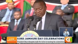 We will deal with those involved in NYS scandal, President Kenyatta assures