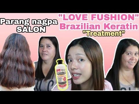 Brazilian Blowout Keratin Restoration Treatment AT HOME   By Love Fushion  Review !!