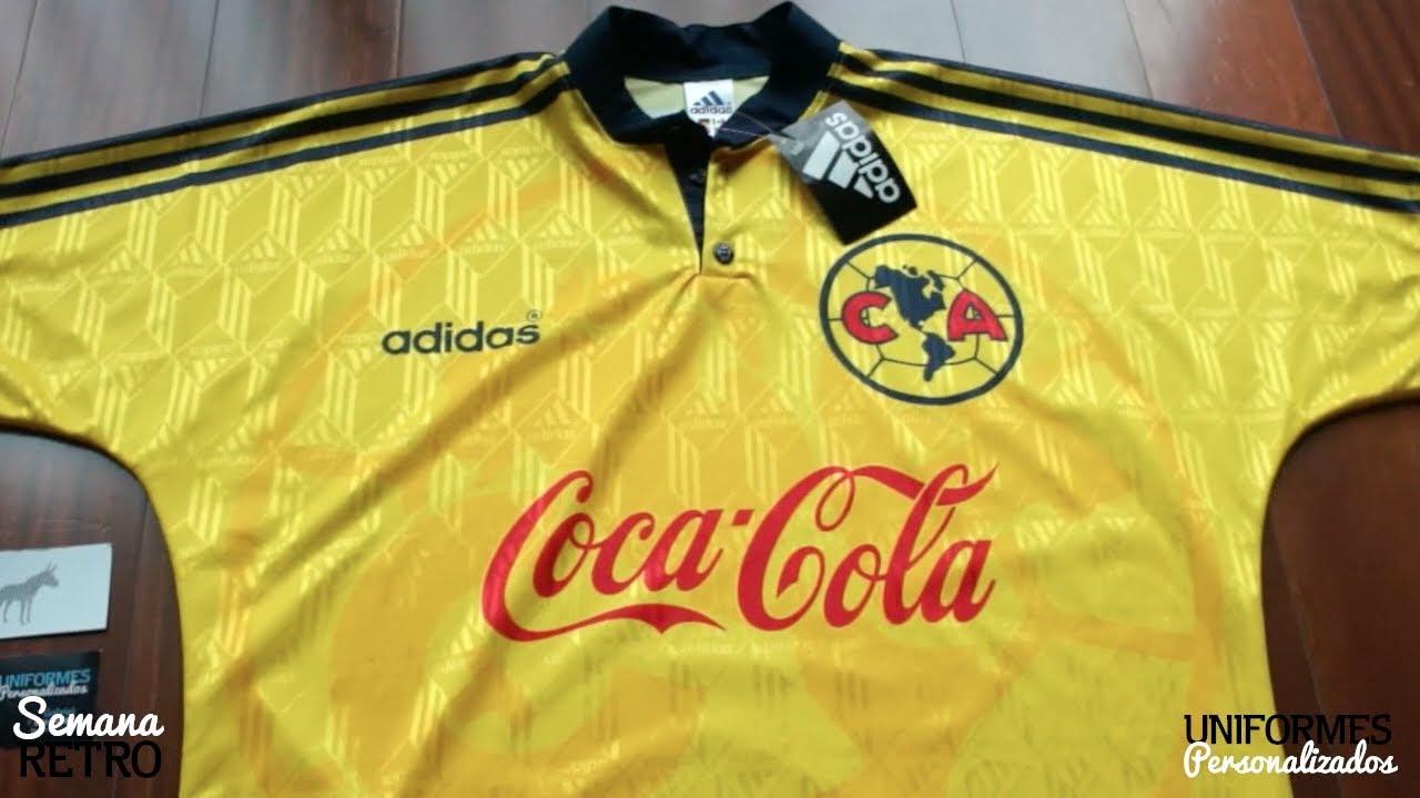 cd38179ec Club América 97-98 (Playera RETRO Local). - YouTube
