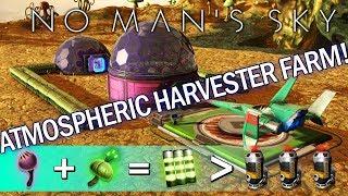 ATMOSPHERE HARVESTER PART 1: ACID UTILITY FARM IN NO MAN'S SKY 1