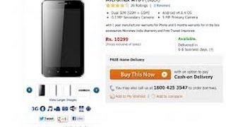 Micromax A101 Mobile full specifications, features And price